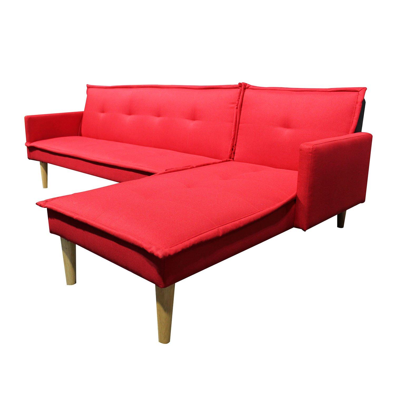 Sala Sofacama Independencia Rojo